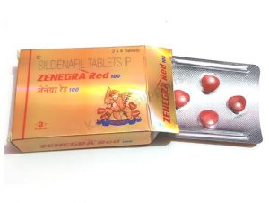 Zenegra Red 100mg Tablets