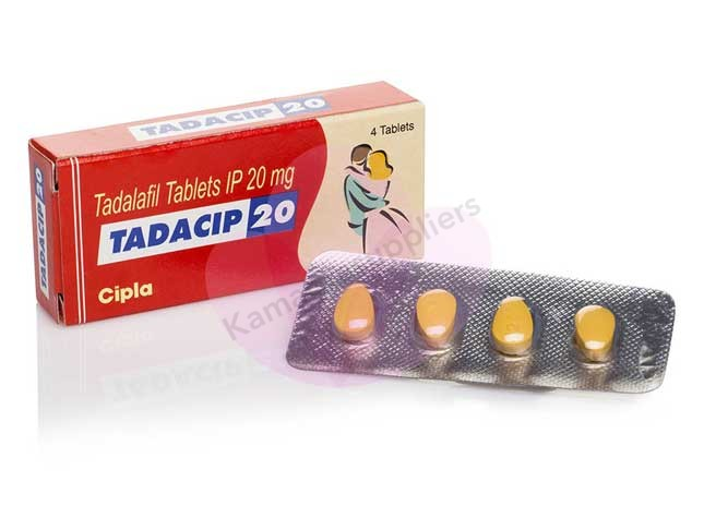 Tadacip 20mg Tablets