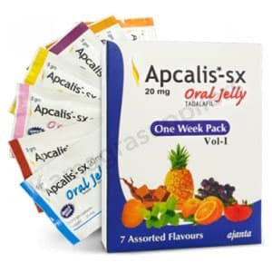 Apcalis SX 20mg oral jelly